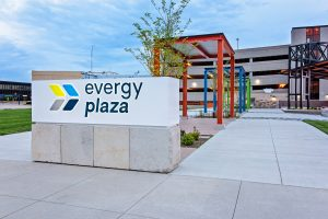 Evergy Plaza Sign